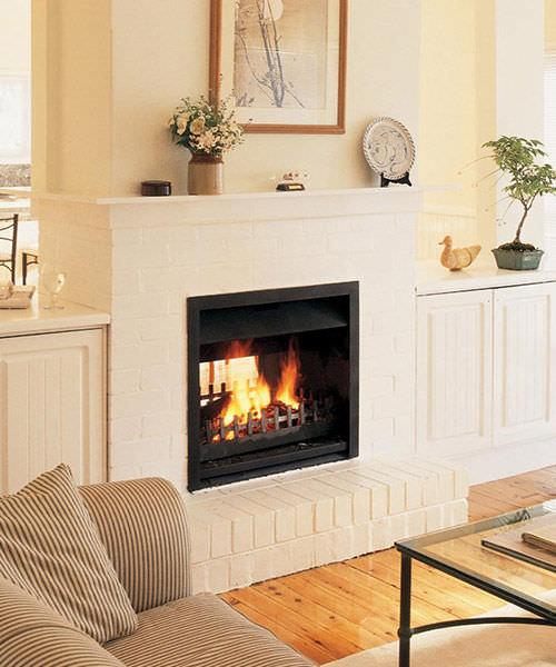 Wood Burning Fireplace Insert Double Sided 700 Jetmaster