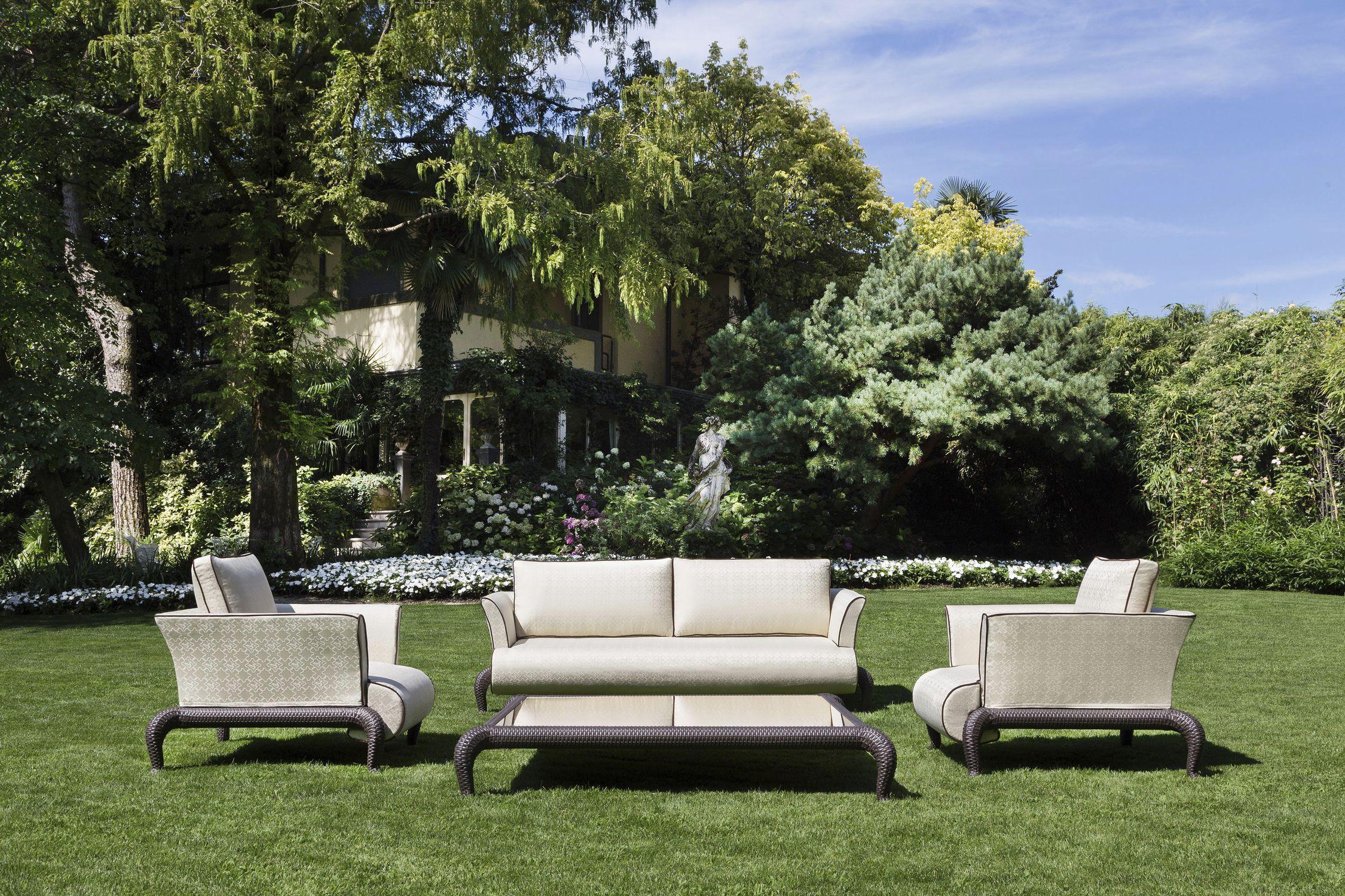 Traditional sofa - CANOPO - Samuele Mazza by DFN srl - garden