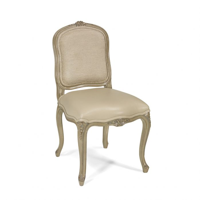 Pleasant French Style Dining Chair Upholstered Fabric Leather Squirreltailoven Fun Painted Chair Ideas Images Squirreltailovenorg