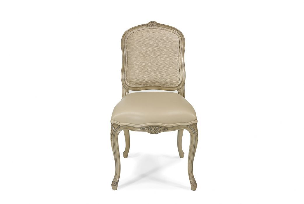 Wondrous French Style Dining Chair Upholstered Fabric Leather Squirreltailoven Fun Painted Chair Ideas Images Squirreltailovenorg