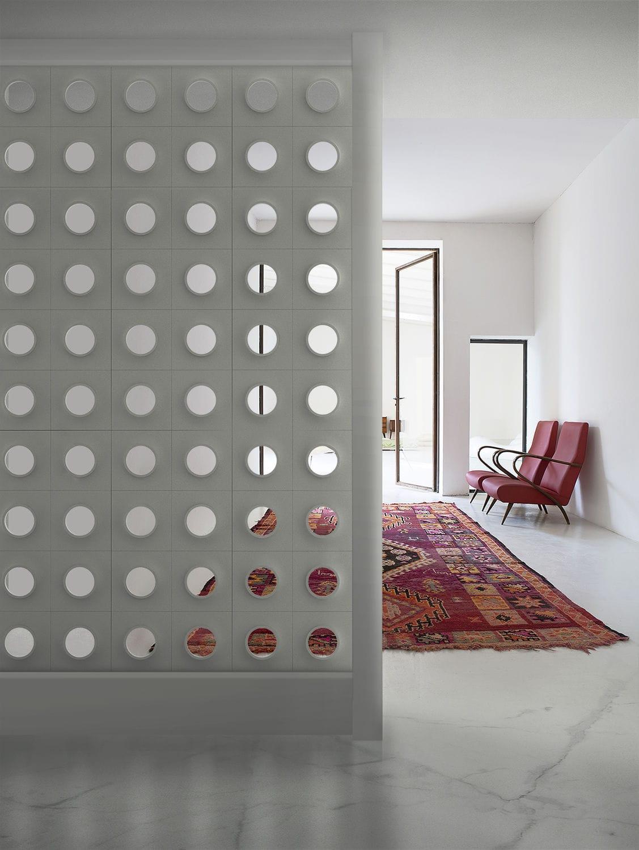 Plaster Room Divider Screen Blocks Vintage Mg12 Commercial Modular Outdoor