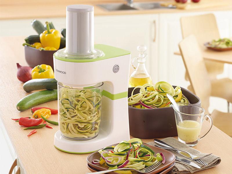 Kenwood FGP200WG Electric spiraliser pour fruits et légumes spaghetti Maker 0.5 L