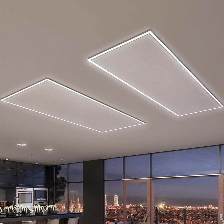 Electric radiant panel - ICONIC - HEAT4ALL - ceiling-mounted