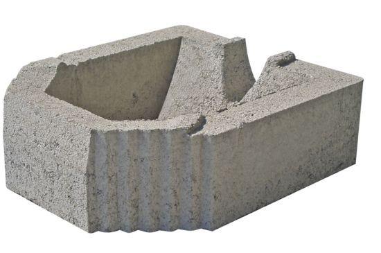 Hollow Concrete Block Muro Facile Mvb Lightweight For