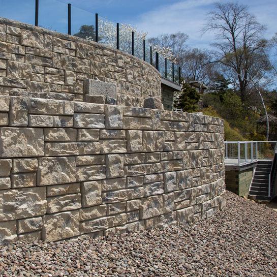 Reinforced Concrete Retaining Wall Modular Prefab For Garden Enclosures K Block