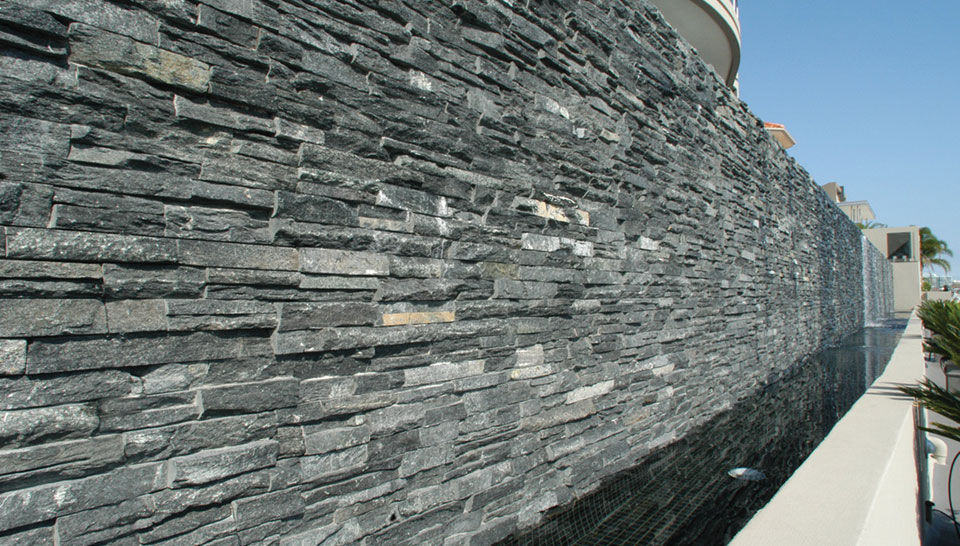 Exterior Wall Cladding Interior 3d Stone Look Thin