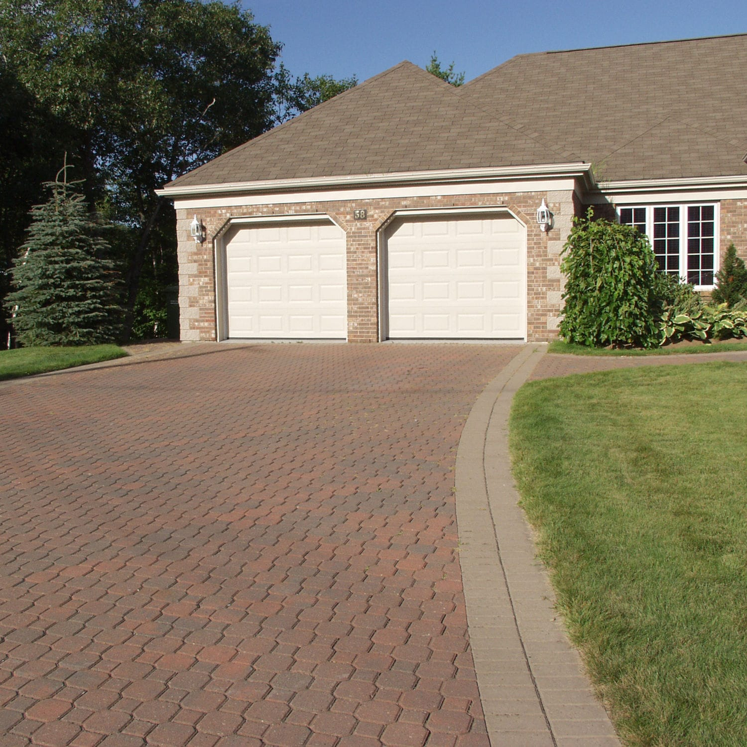 Concrete Paver Keystone Shaw Brick Drive Over Anti Slip Frost Resistant
