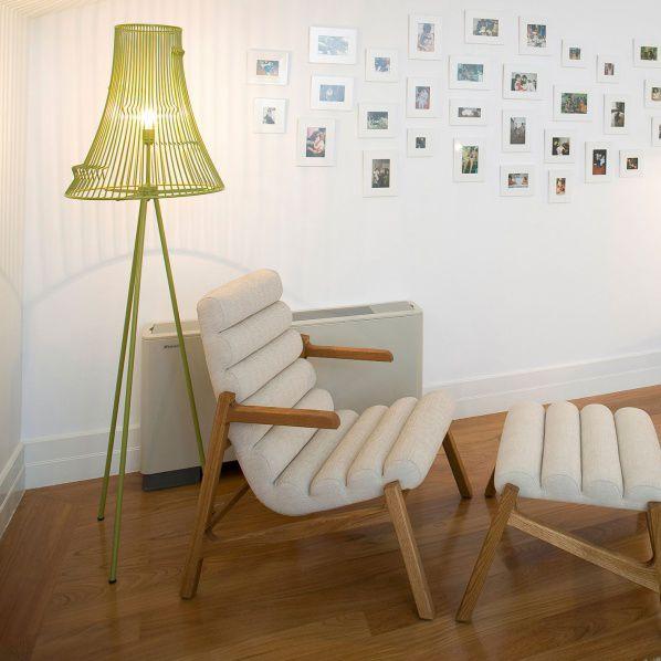 Floor-standing lamp / contemporary