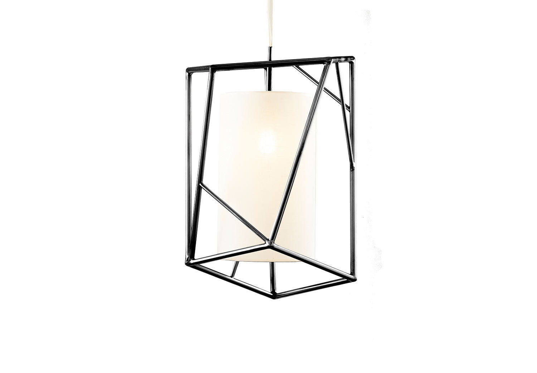 Pendant Lamp Contemporary Linen Copper