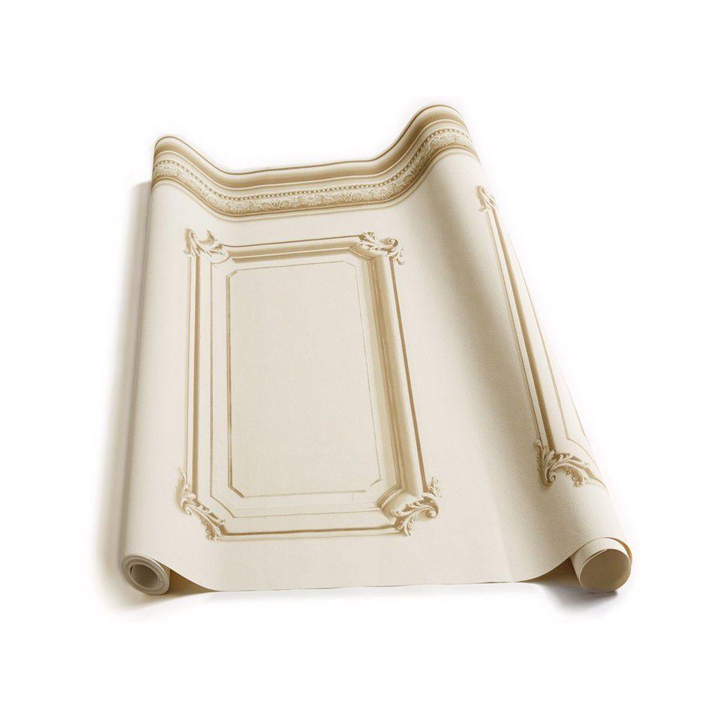 Papier Peint Trompe L Oeil Koziel classic wallpaper / vinyl / baroque / 3d effect - 8888-312