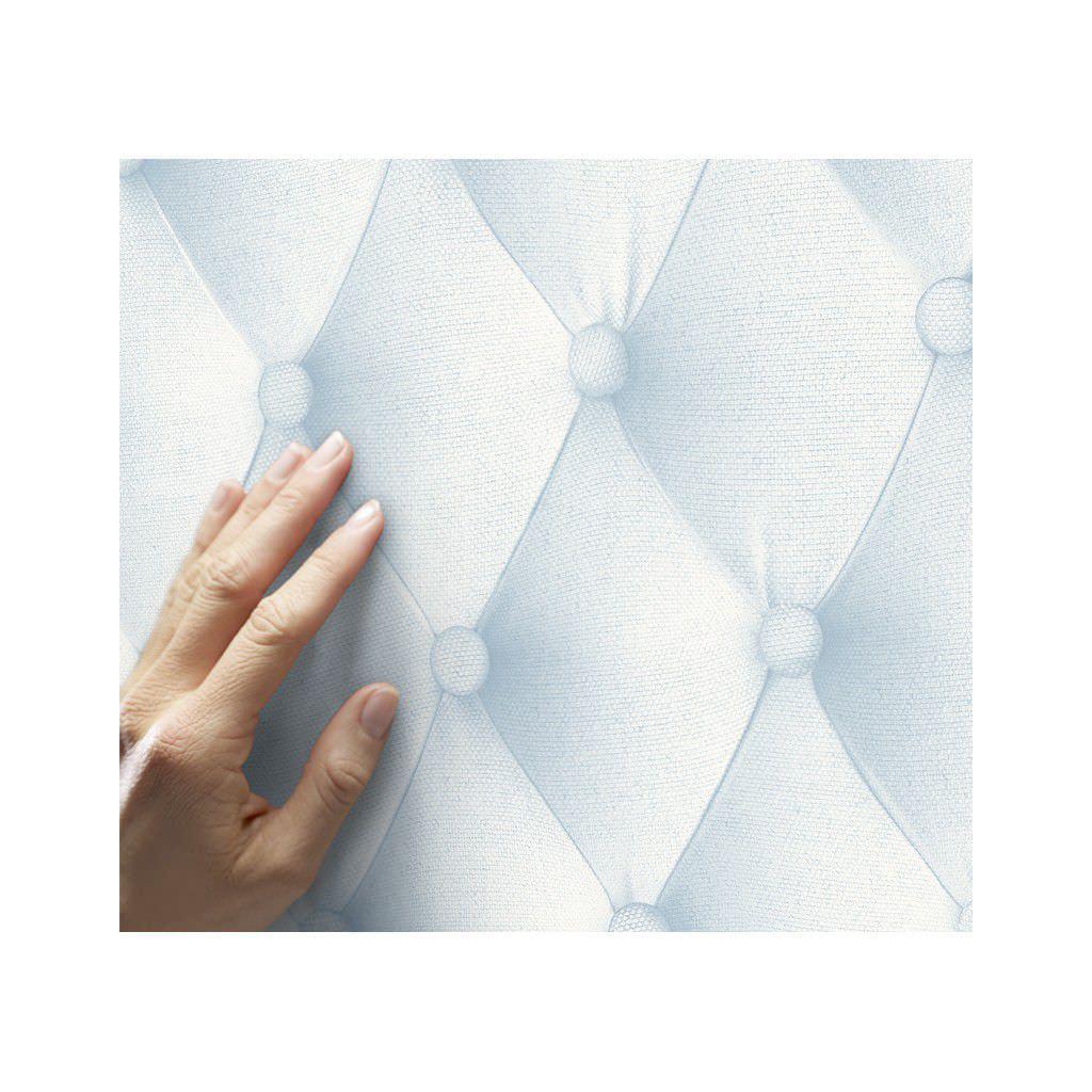 Koziel Trompe L Oeil contemporary wallpaper / vinyl / tufted / fabric look - 8888