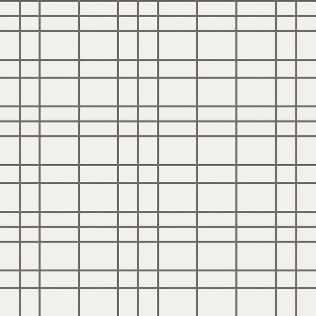 Contemporary Wallpaper Uneven Square Eco Geometric Pattern
