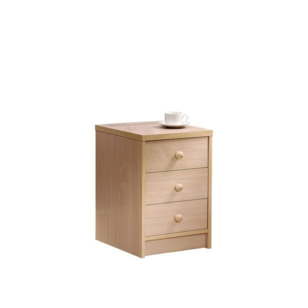 Contemporary Bedside Table Hamble Pineapple Melamine Rectangular With Drawer