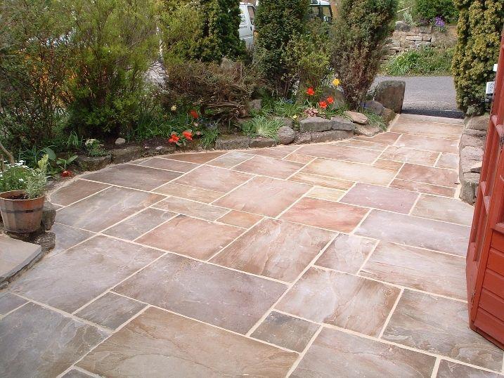 paver steps to backyard ideas