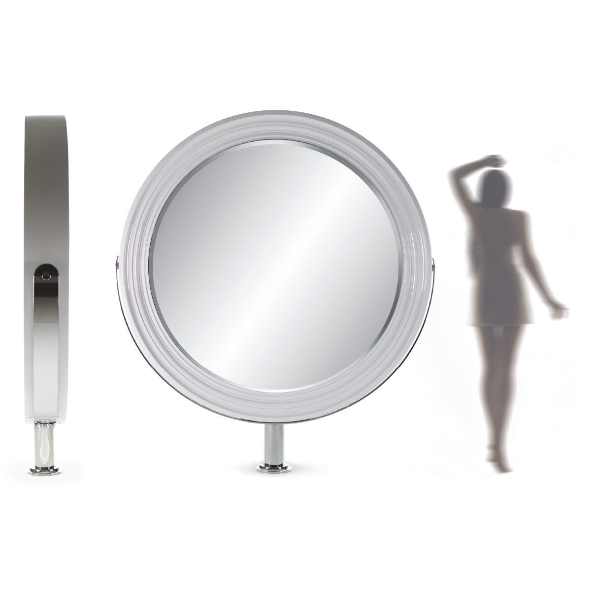 Free Standing Mirror Wall Mounted Double Sided