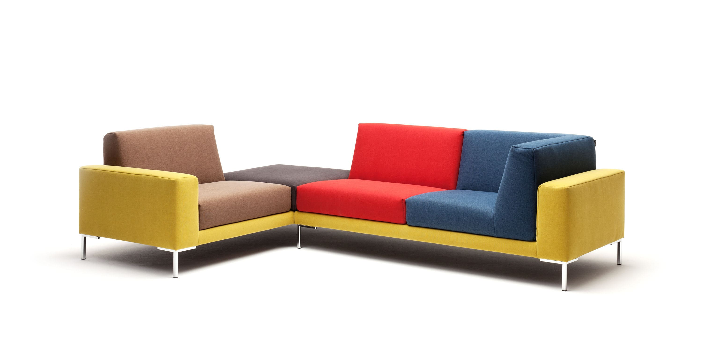 Modular sofa contemporary fabric 4 seater 183 freistil