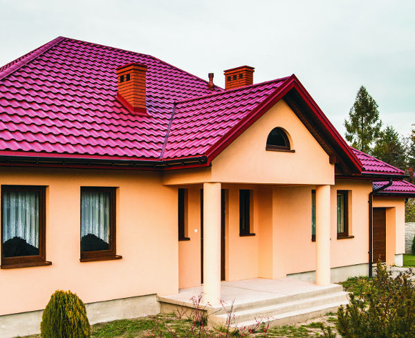 Sheet Steel Roofing Granite Storm Arcelormittal Europe Flat Products Steel Pre Lacquered Colored