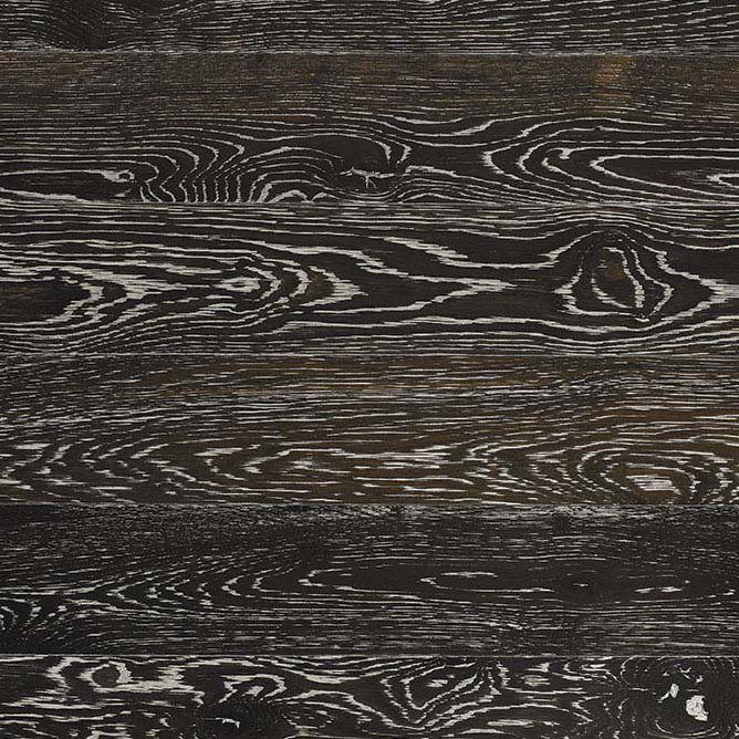 Solid Parquet Floor Black Oak