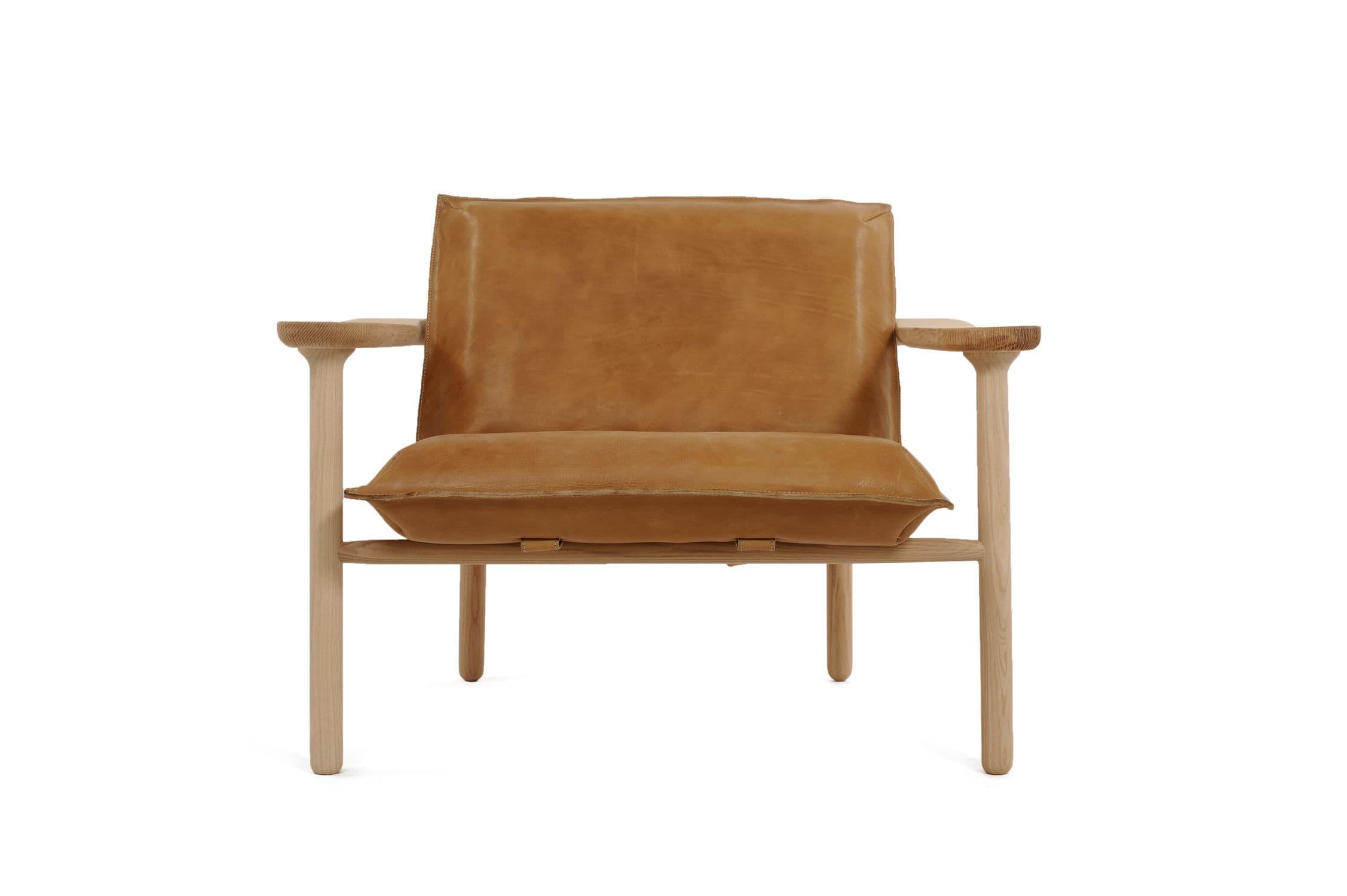 Scandinavian design armchair - IGMAN - Zanat - fabric ...