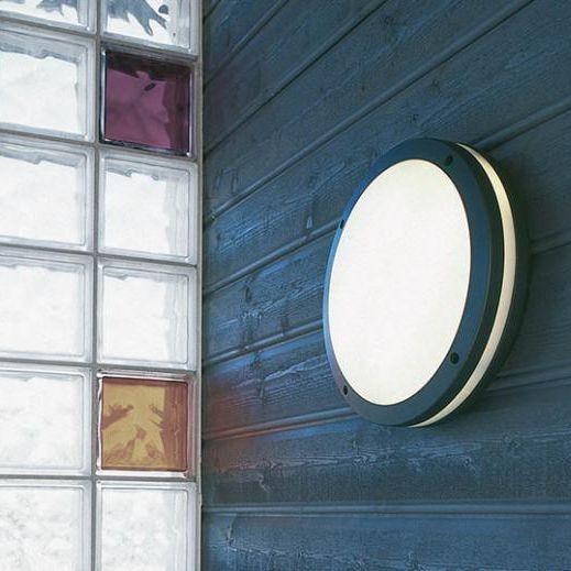 Contemporary Wall Light Outdoor Aluminum Polycarbonate