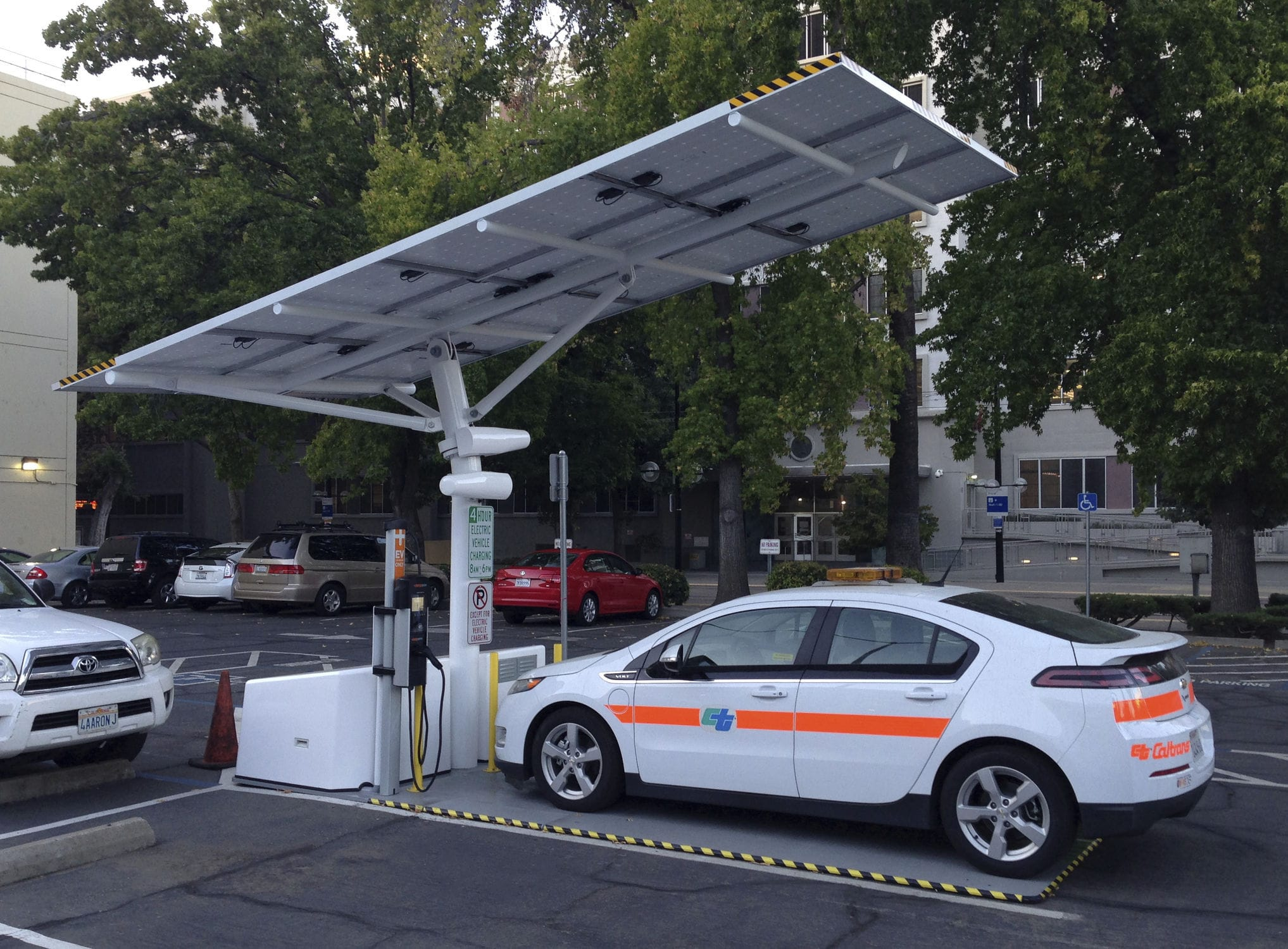 Charge Your Electric Car with Solar Power - Its EV PV