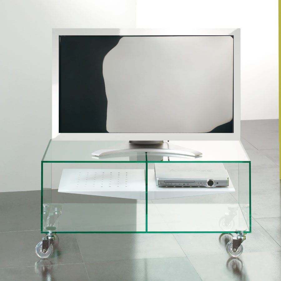 Porta Tv Con Ruote Ikea.Contemporary Tv Cabinet On Casters Glass Disegno E Box 0