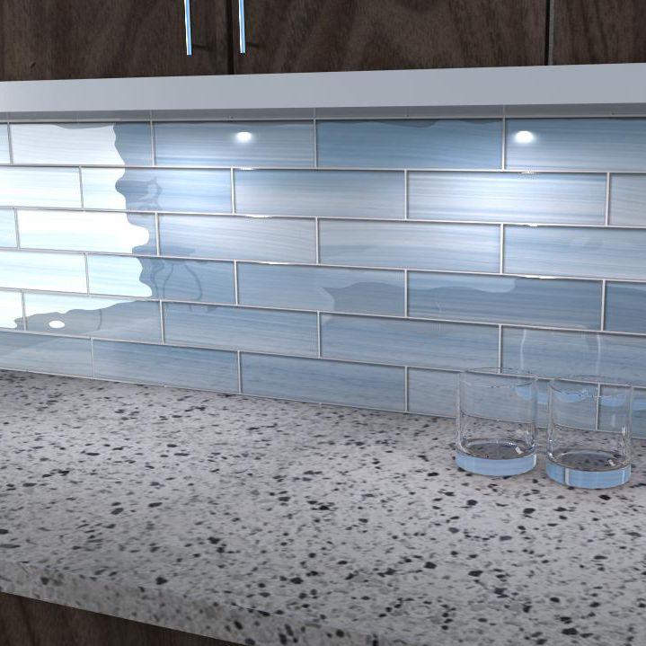 Bathroom Tile Kitchen Wall Gl