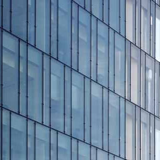 Aluminum and glass curtain wall - SILICONE GLAZED - ADEN METAL - glass /  high-resistance