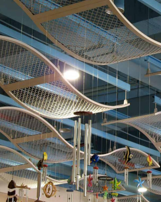 Wire Mesh Suspended Ceiling Sems