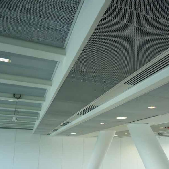 Wire Mesh Suspended Ceiling Floating Panel Acoustic