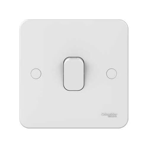 Light Switch Push On Double Contemporary Lisse