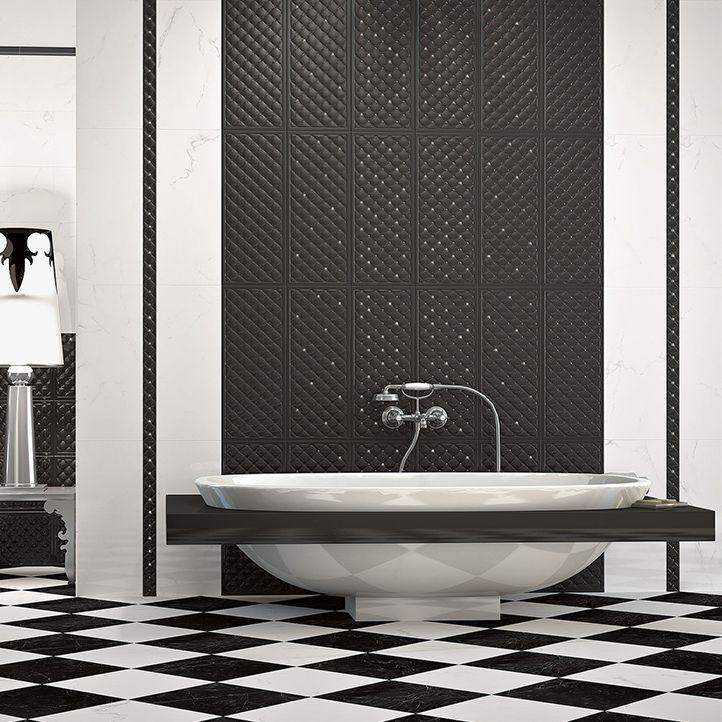 Bathroom Tile Wall Ceramic Rectangular Royal Paul