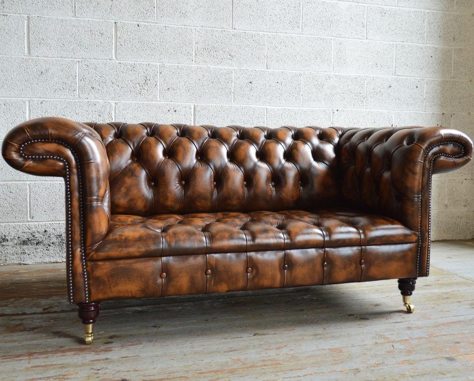 Chesterfield Sofa 1857 Abode Sofas