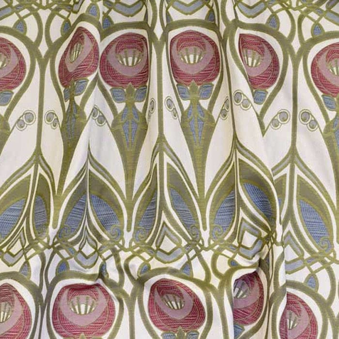 Upholstery Fabric For Curtains Patterned Cotton