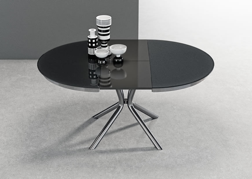 Super Contemporary Dining Table Glass Metal Stained Wood Home Remodeling Inspirations Basidirectenergyitoicom