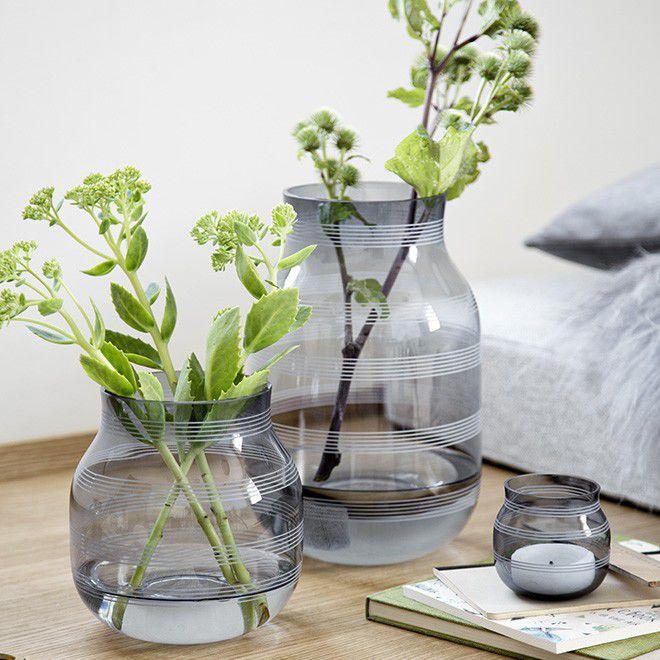 Stilig Contemporary vase / glass - OMAGGIO by Stilleben - Kahler Design MW-76