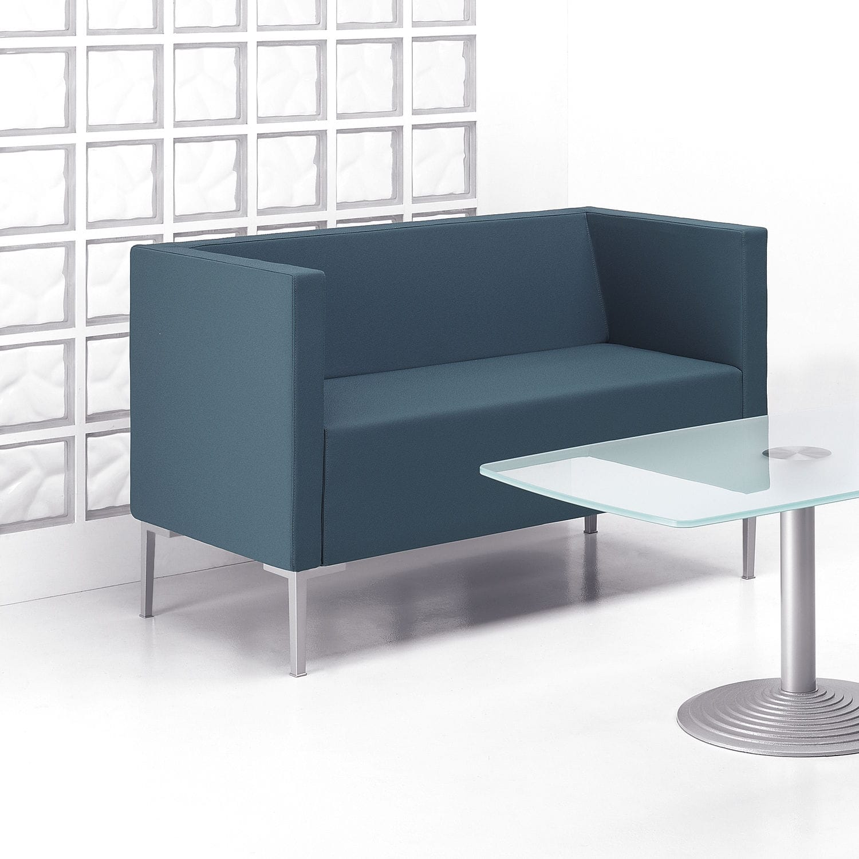 Contemporary Sofa Fabric Cast Aluminum Commercial