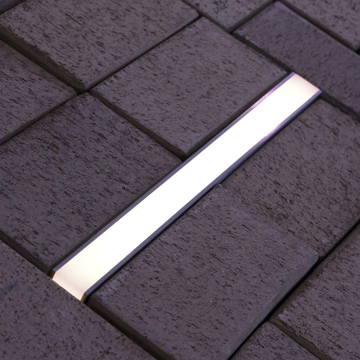 Recessed Floor Light Fixture Led Linear Outdoor Lane