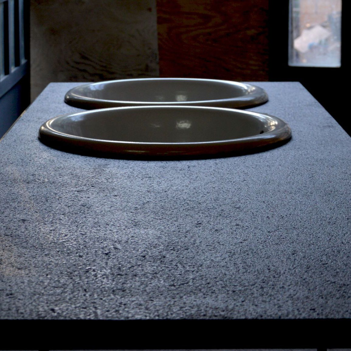 Lava Stone Countertop Basaltic Militello Ceramiche Kitchen Bathroom Stain Proof