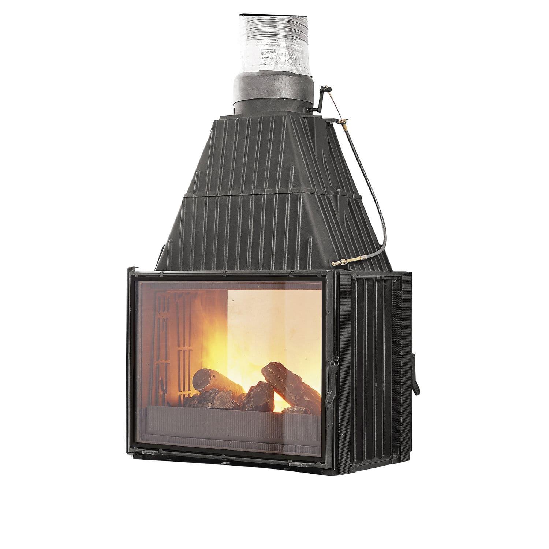 Wood Burning Fireplace Insert 660143 Godin Export Double Sided
