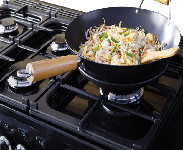 Gas Cooktop Multi Couronne Falcon With Grill Wok 5 Burners