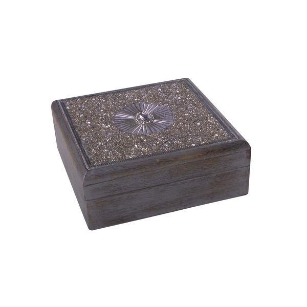 Wooden Storage Box Angel Zenza
