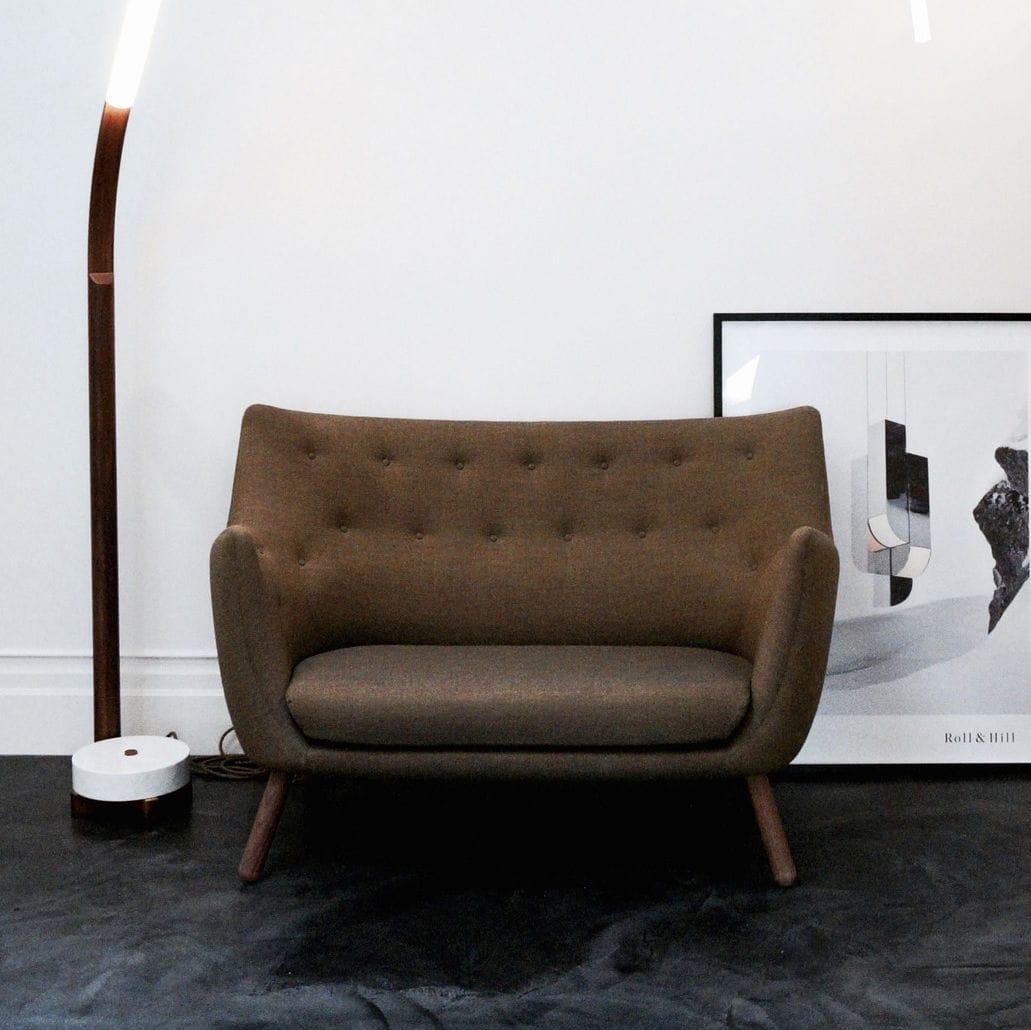 Scandinavian design sofa / fabric / leather / wooden - POET ...