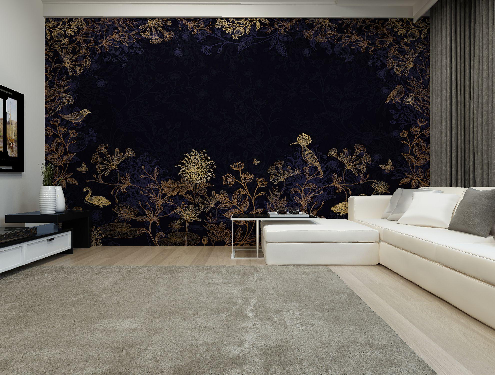 Contemporary Wallpaper Hd912a Glow In The Dark Hd Walls