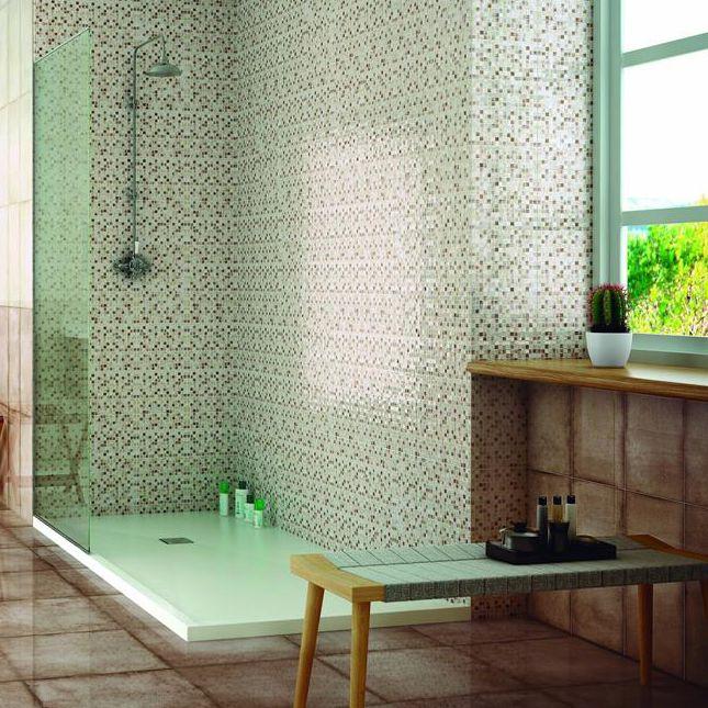 Indoor Tile Wall Porcelain Stoneware Geometric Pattern
