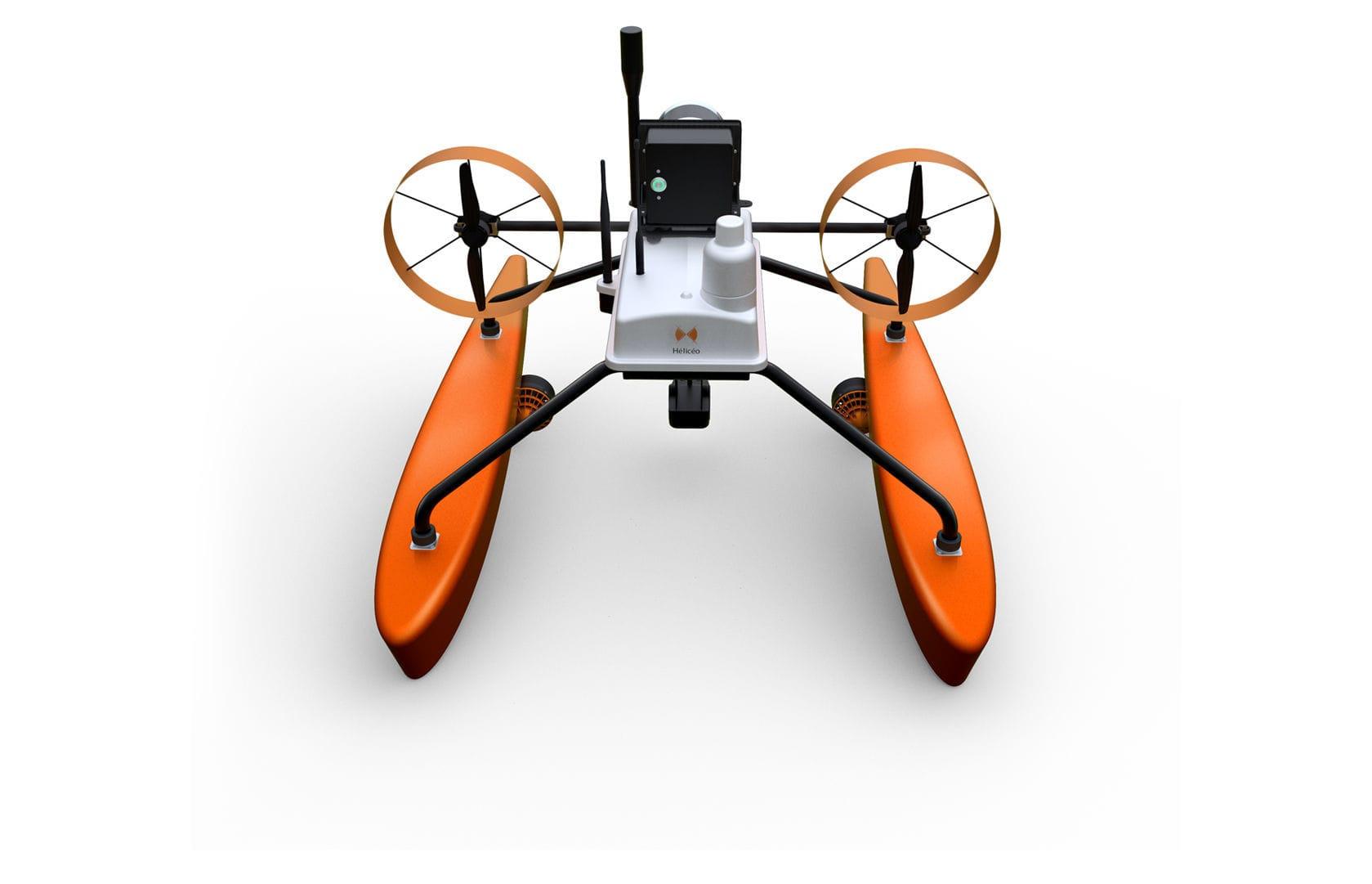 Electric motor UAV / floating / inspection - SUPERBATHY - Heliceo