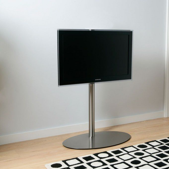 Contemporary Tv Stand Stainless Steel Disco 07 Bi