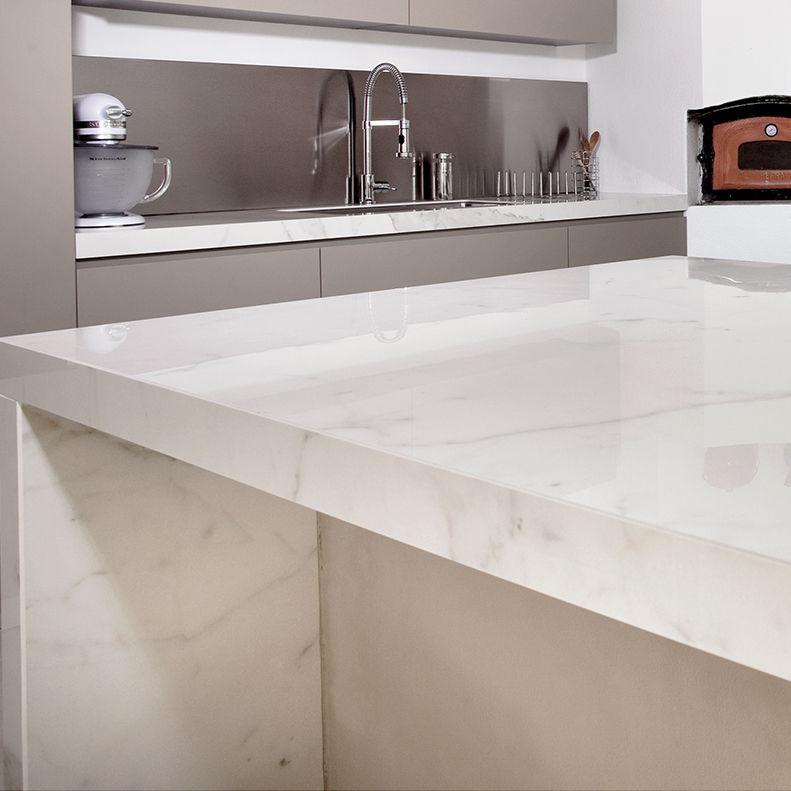 Porcelain Stoneware Countertop Commercial Kitchen Heat