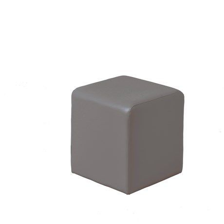 Astonishing Contemporary Pouf Pvc Covering Square For Hotels Evergreenethics Interior Chair Design Evergreenethicsorg