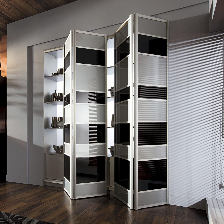 Image of: Closet Door Modern Ville Doors Folding Solid Wood Semi Glazed